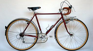 Type E/ 650A Randonneur/ Mr.Maruguchi from Hokkaido/ 2008.10.30完成