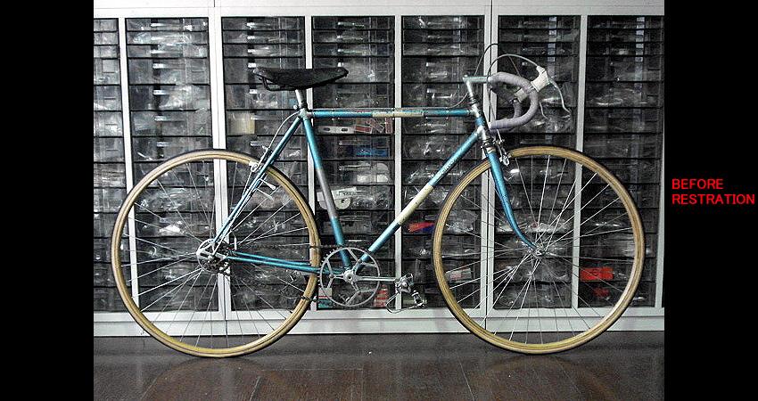 Restored/ Bottecchia Paris-Roubaix/ Mr.Akao from Kyoto/ 2009.3.21