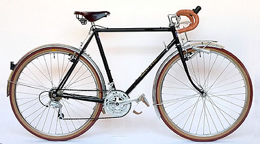 Type E/ 650B Randonneur/ Mr.Kitanaka from Nara/ 2009.12.18