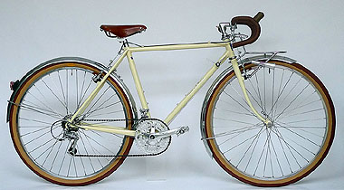Type E/ 650B Randonneur/ Mrs.Kashiwase from Tokyo/ 2010.8.15