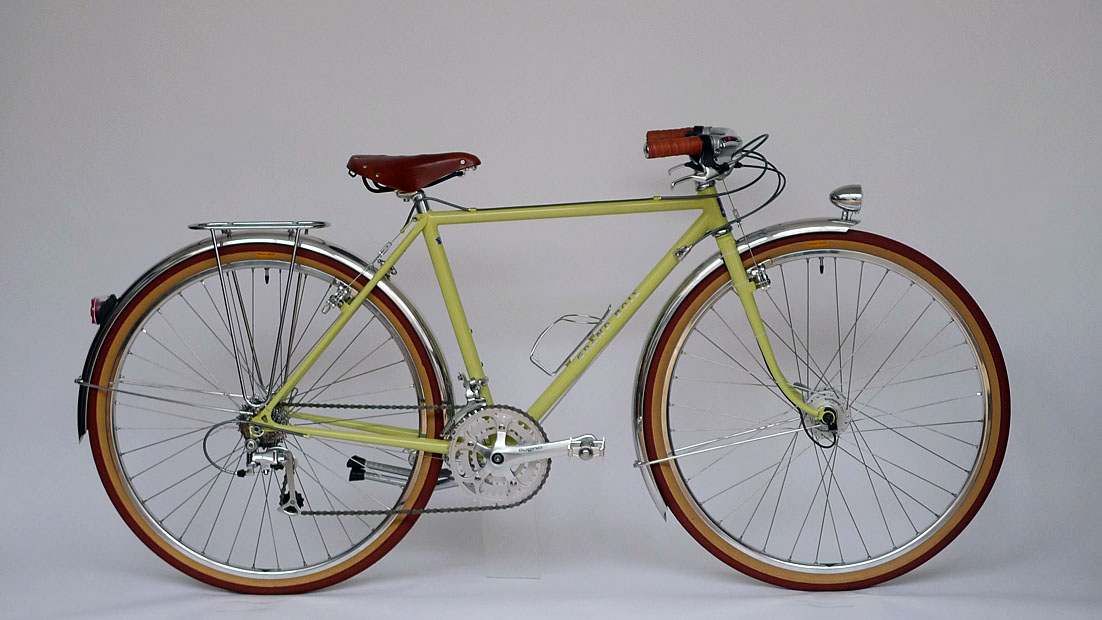 Type C/ 650B Randonneur/ Ms.Matsubara from Osaka/ 2010.10.5