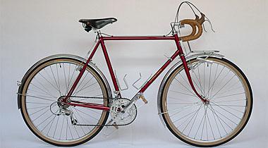 Type E/ 650B Randonneur/ Mr.Ishida from Kyoto/ 2011.2.10