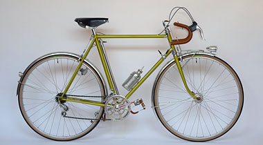 Type V/ 700C Randonneur/ Mr.Ueno from Kyoto/ 2011.2.20