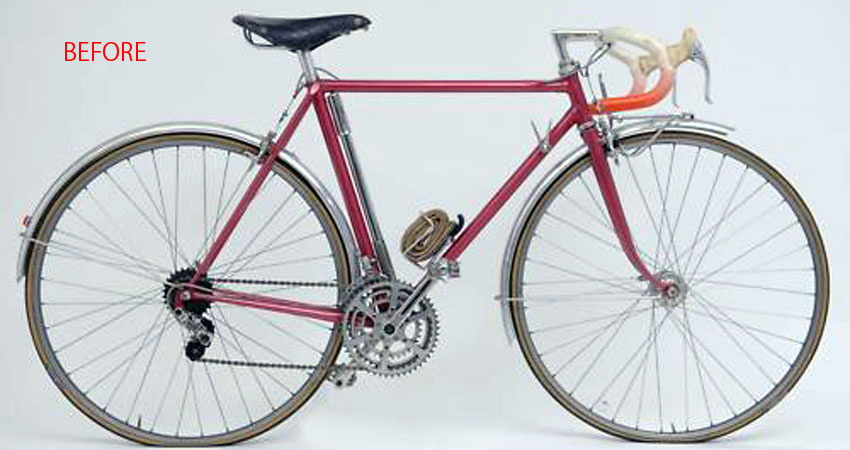 Restoration/ Rene Herse Randonneur/ Mr.Tsuchida from Nara/ 2011.4.15