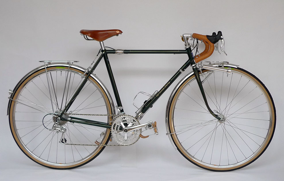 Type V/ 700C Demountable Randonneur/ Mr.Kato from Kyoto/ 2011.8.16