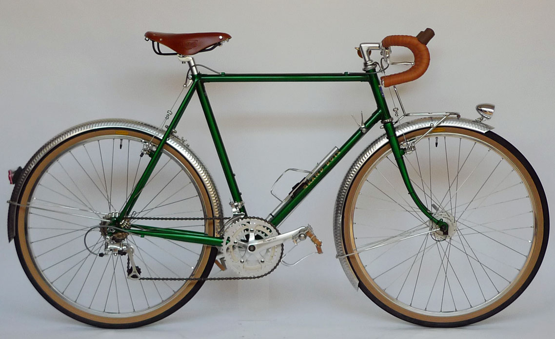 Type E/ 650B Randonneur/ Mr.Oohata from Osaka/ 2011.12.28