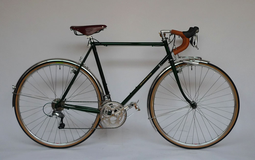 Type E/ 700C Randonneur/ Mr.Fujiyama from Osaka/ 2012.11.9