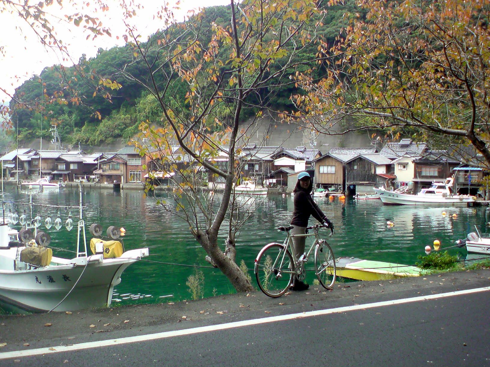 日本の旅(湖沿い)